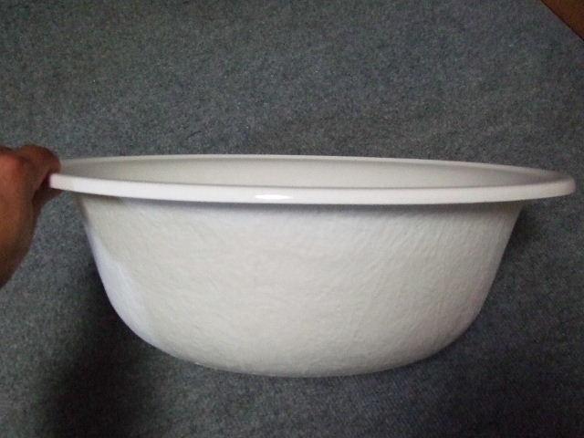 FRP洗面器:直径40cm 深15cm 商...